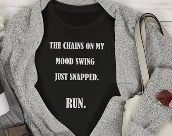 The Chains on my mood swing Short-Sleeve Unisex T-Shirt