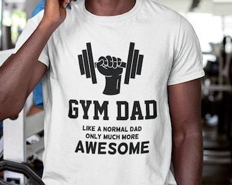 Gym Dad  Unisex Short Sleeve T Shirt