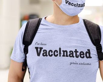 Ive been Vaccinated Short-Sleeve Unisex T-Shirt