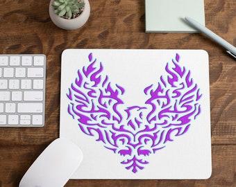 Purple Phoenix Mousepad