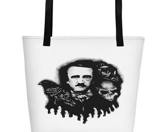 Poe Nevermore Beach Bag