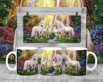 Waterfall Unicorn Mug