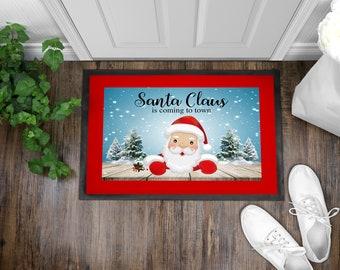 Santa Claus Indoor/Outdoor Floor Mats