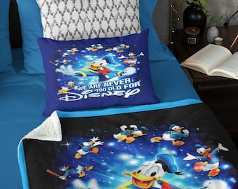 We are never too old Donald Throw Blanket