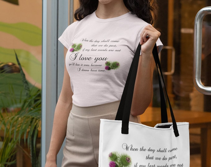 Featured listing image: When the Day shall come Short-Sleeve  T-Shirt and or matching Bag