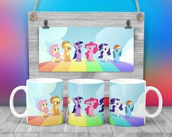 My Little Pony Coffee Hot Chocolate Mug