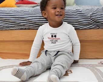 Perfect Gentleman Infant Long Sleeve Bodysuit