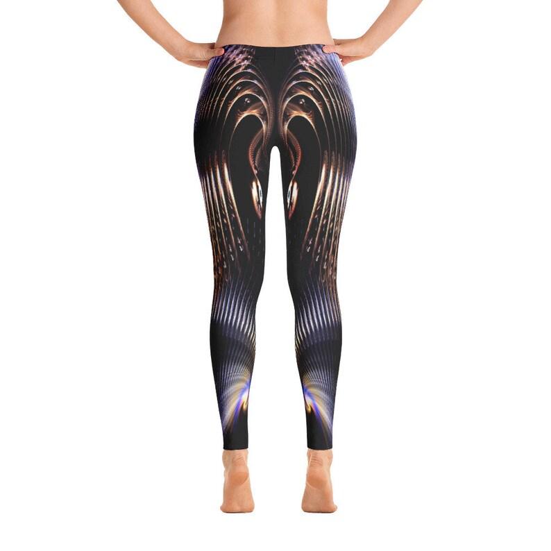 Womans Swirls Leggings