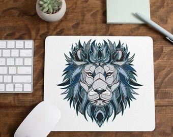 Artistic Lion Mousepad