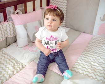 Daughter of A King Fine Jersey Bodysuit