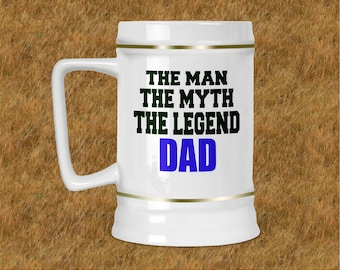The Man The Myth Beer Stein
