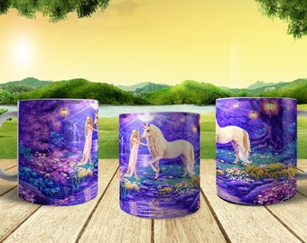 Unicorn Coffee Mug Hot Chocolate Mug Choice of Two Designs