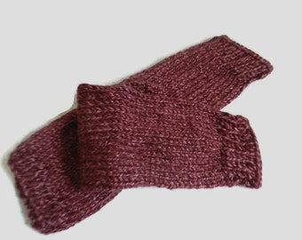 Claires Outlander Inspired Pursuit Of Craigh Na Dun Burgundy Arm Warmers W5761 MADE TO ORDER