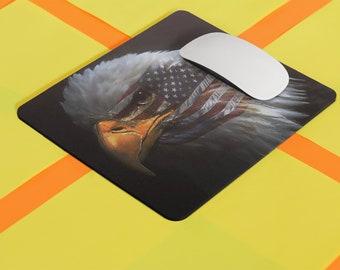 Patriotic Eagle Left Side Mousepad