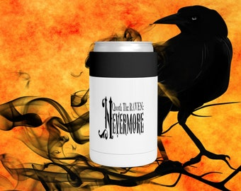 Quoth The Raven Can Bottle Holder