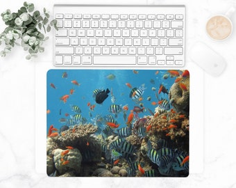 Coral Reef Fish Desk Mat – Small 18″ x 12″
