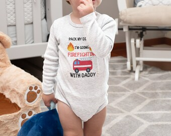 Pack My Diapers Infant Long Sleeve Bodysuit