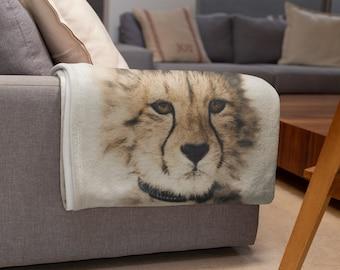 Baby Leopard Throw Blanket