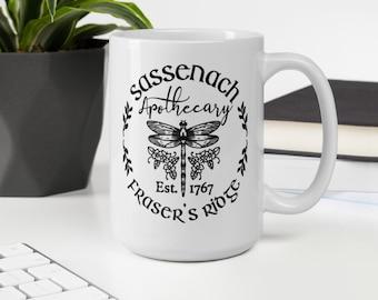 Sassenach Apothecary White glossy coffee mug