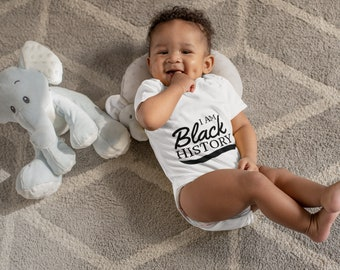 I am Black History Infant Fine Jersey Bodysuit