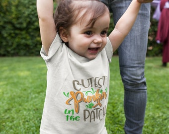 Toddler Cutest Punkin In The Patch Tee