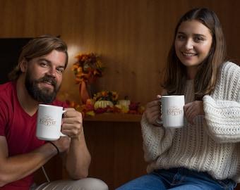 Together Forever White Ceramic Mug