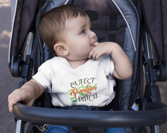 Infant Cutest Punkin in The Patch Tee