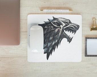 Dragon Wolf Mousepad