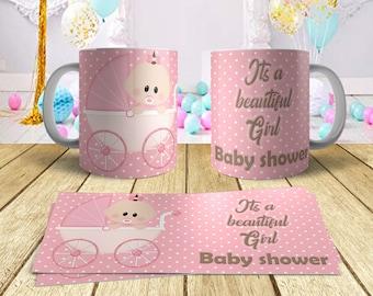 Choice of Four Designs Baby Shower  Ceramic Mug