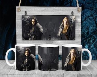 Lannister and Stark Coffee Mug