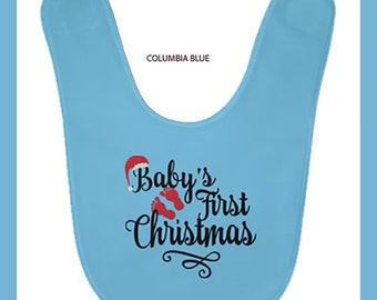 Babys First Christmas BABYBIB Baby Bib