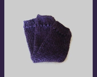 Claires Outlander Inspired Pursuit Of Craigh Na Dun Purple Arm Warmers MADE TO ORDER