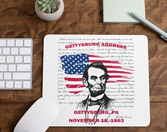 Gettysburg Address Mousepads