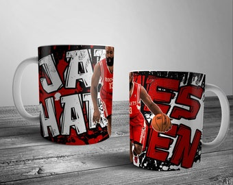 Sports Coffee Mug Set 4 Choice of Five Designs