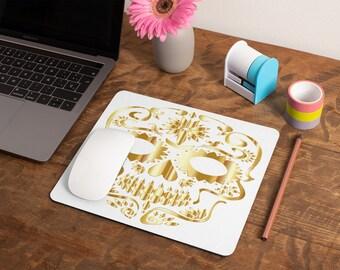 Gothic Skull Mousepad