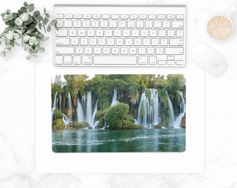 Waterfall  Desk Mat – Small 18″ x 12″