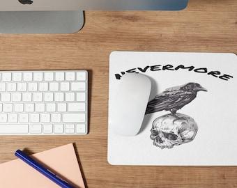 Raven Skull Mousepad