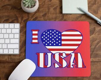 Love The Usa Mousepad