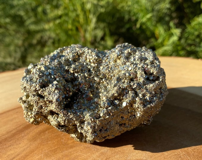 "Pyrite Specimen ""E"" / FREE SHIPPING / Fool's Gold / Prosperity / Protection / Deflects Negativity"