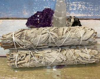 Large White Sage Smudge Sticks / Ceremony / Rituals / Protection / Cleansing