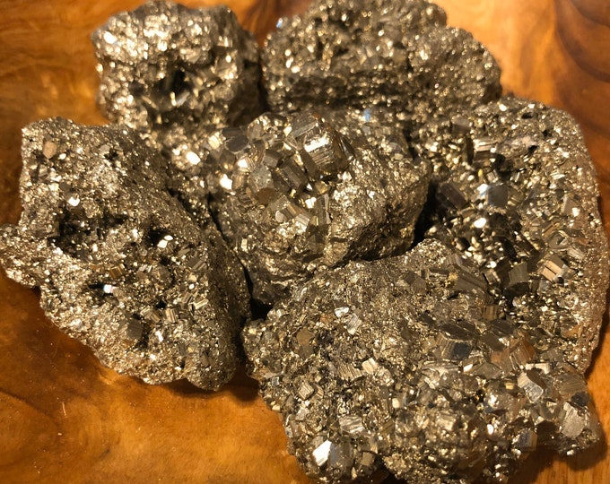Pyrite Specimen Group A / Fool's Gold / Prosperity / Protection / Deflects Negativity