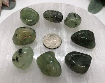 Prehnite Tumbled Stones / Radiance / Vitality / Self-Worth