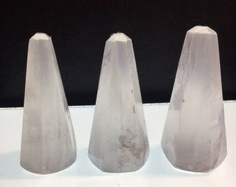 Selenite Tapered Point / Peace / Tranquility / Protection