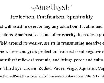 Crystal Meaning Cards PDF