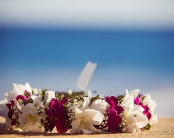 Fresh Hawaiian Orchid Hakus and Hairpeices