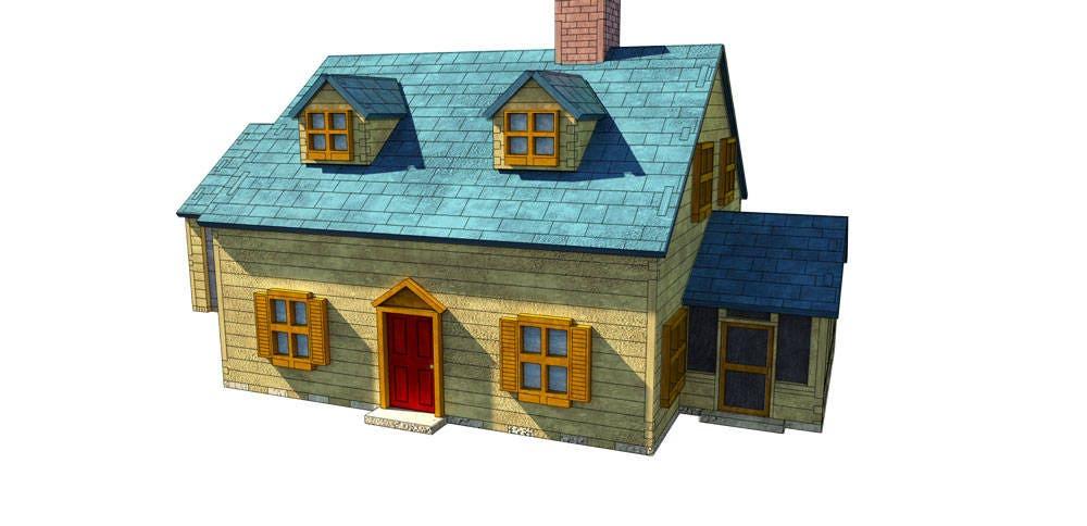 Groovy Rhode Island House Laser Cnc Router Cutting Pattern Dxf Download Free Architecture Designs Scobabritishbridgeorg