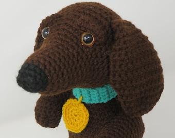 Ravelry: Crochet Amigurumi Daschund Sausage Dog pattern by Tracy ...   270x340