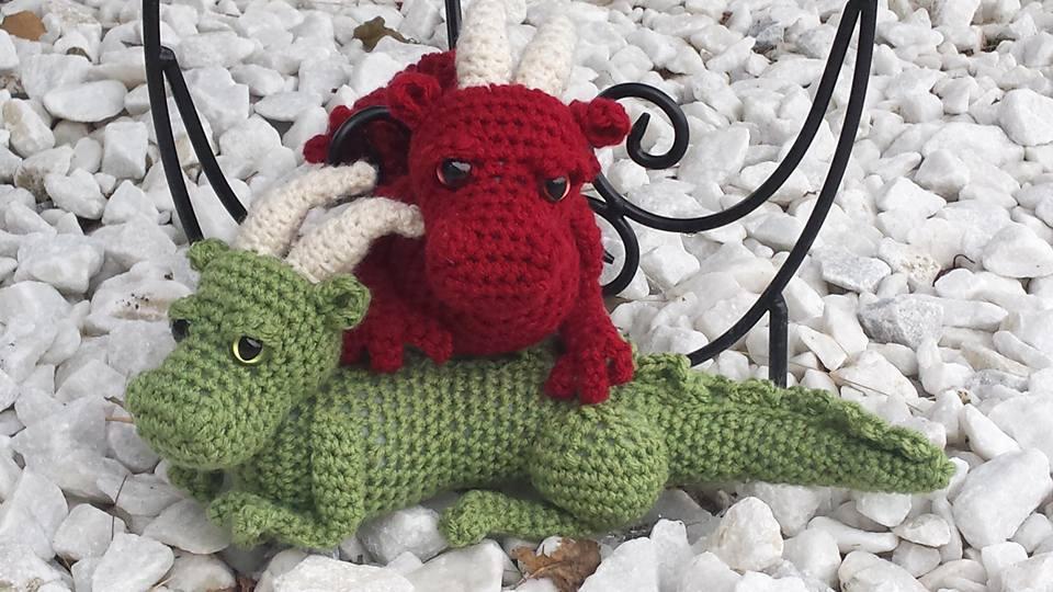 Dragon crochet pattern amigurumi fantasy baby dragon | Etsy