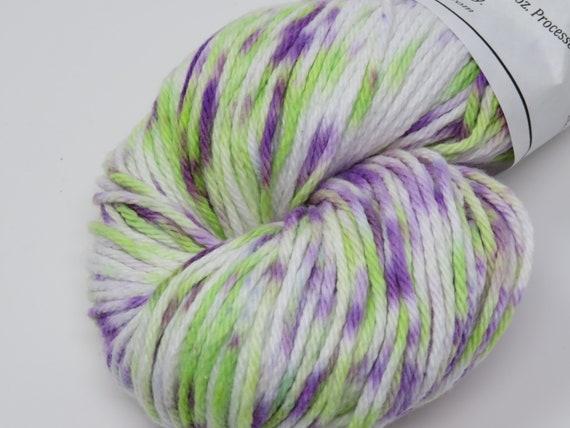 Handgefärbtes Garn 100 % Baumwolle Kammgarn Gewicht 200 yds | Etsy