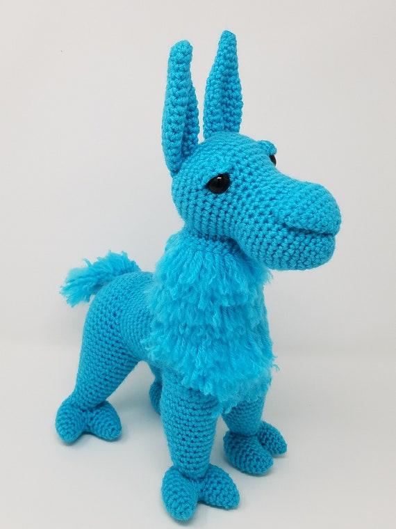 Llama amigurumi crochet pattern groovy llama plush llama | Etsy